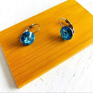 Swarovski Elements Handmade Bella Crystal Earrings